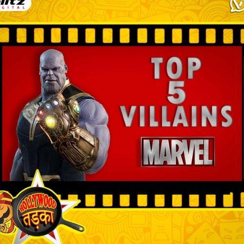 Top 5 Marvel's Super Villains   मार्वल सिनेमैटिक यूनिवर्स   Hollywood तड़का   दी हिंदी रिव्यू शो   The Review Show