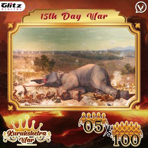 Day 15 : Kauravas - Padma Vyuha vs Padavas -Vajra Vyuha    Kurukshetra War
