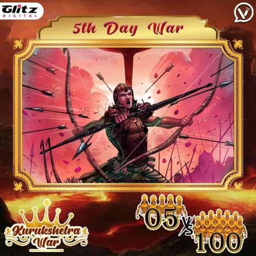 Day 5 : Kauravas - Crocodile Formation vs Pandavas - Hawk Formation   Kurukshetra War
