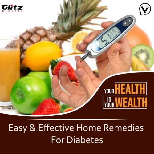 Easy & Effective Home Remedies For Diabetes