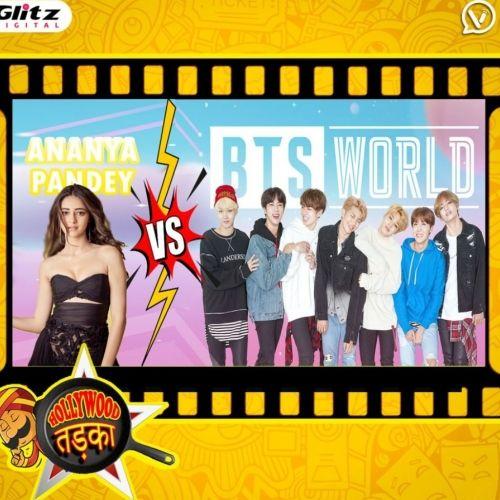 Ananya Pandey vs BTS?   सोशल मीडिया युद्ध   Hollywood तड़का   दी हिंदी रिव्यू शो    The Review Show