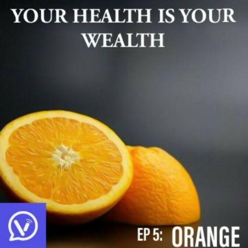 Orange is a fruit, as sweet as a singing flute