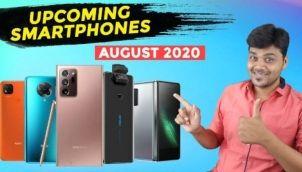 Top 5+ Best Upcoming Smartphones launches in AUGUST 2020