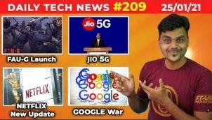 Prime #209 : Faug Launch, Jio 5G, Google war, One Plus 9 leaks, Tata Motor Price Hiked