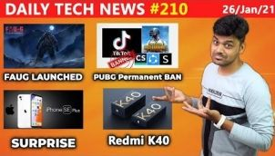 Prime #210: FAU-G Launched, Redmi K40, iPhone SE Plus, PUBG Ban Permanently, FB not Safe , Green Tax