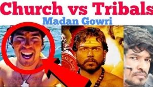 Church vs Tribals | Tamil | John Allen Chou | Madan Gowri | MG | Jesus Loves You | Sentinels island