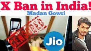 X Ban in India