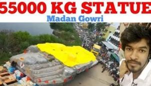 55000 kg Statue Mystery