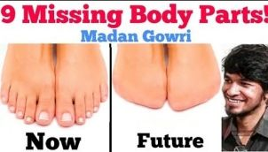 9 Missing Body Parts
