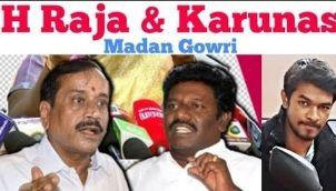 H Raja and Karunas Case