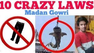 10 Crazy Laws