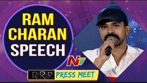 Ram Charan Reveals Interesting Facts about RRR Movie Announcement   RRR Movie Press Meet