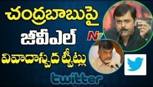 TDP Serious over GVL Narasimha Rao Controversial Tweet on Chandrababu