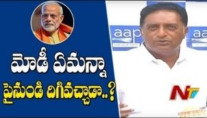 Prakash Raj Press Meet | Fires on Narendra Modi | #IndianElections2019