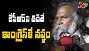 Congress Leader Jagga Reddy on Rumours of Joining TRS Party
