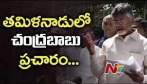 Chandrababu To Hold Election Campaign For DMK Candidates In Tamil Nadu    Elections 2019