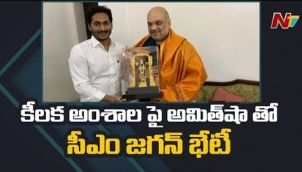 CM Jagan Discusses Key Issues With Amit Shah