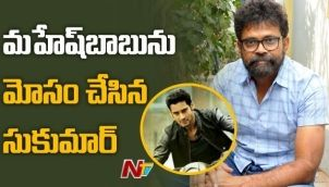 Can Sukumar ready script for Mahesh Babu within months?
