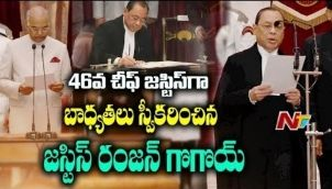 Justice Ranjan Gogoi took charge as 46th Chief Justice of India