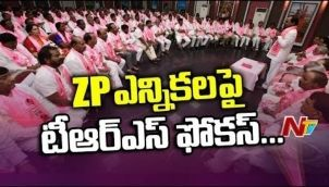 KCR Announces TRS ZP Chairman Candidates For Two Districts