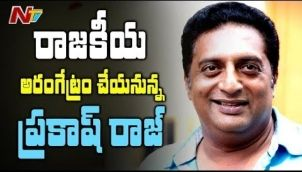 Actor Prakash Raj to Contest in 2019 Lok Sabha Elections