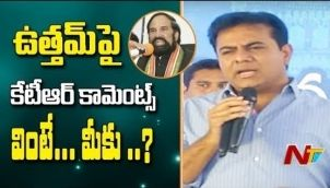 KTR Controversial Comments on Uttam Kumar reddy | Public Meeting From Sanathnagar