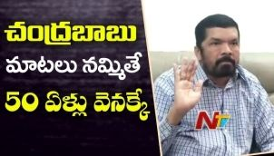 Posani Krishna Murali Sensational Comments On CM Chandrababu Babu Naidu