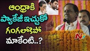 KCR Punch Dialogues to Rahul Gandhi and Sonia Gandhi