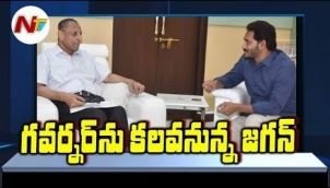 YS Jagan To Meet Governor Narasimhan To Complaint Over Chandrababu Comments