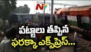 Farakka Train Derails in Uttar Pradesh, 7 slayed and Several Injured