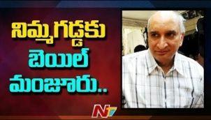 నిమ్మగడ్డకు బెయిల్ మంజూరు   Bail Granted To Nimmagadda Prasad