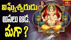 విఘ్నేశ్వరుడు అసలు ఆడ, మగా?    Brahmasri Chaganti Koteswara Rao