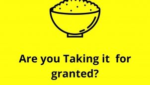 Are you taking it for granted ?
