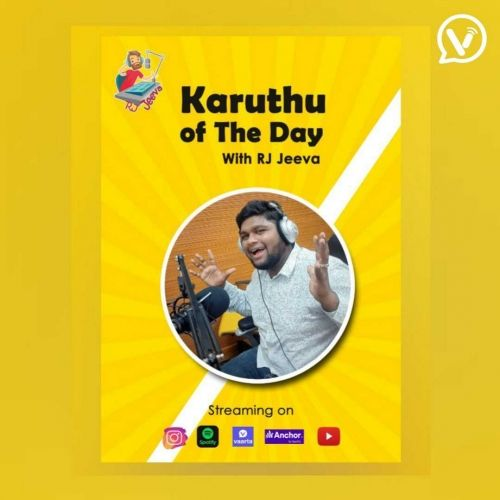 Karuthu of the day with RJ Jeeva💝  (Day 10) Just think about it...🤔
