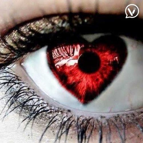 Beautiful Feeling's Of Eyes With Heart