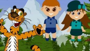 8 बंदर और बिल्ली की कहानी ⛄ SE 1 Kids Moral Stories in Hindi, Bedtime Stories, Hindi Kahaniya, Uday Hindi Stories