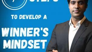 How to Develop a Winner's Mindset in ENGLISH   Winners Mindset best motivational 2021 by Simerjeet Singh   Winning Mindset Podcast