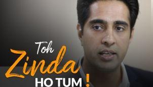 Toh Zinda Ho Tum   Inspirational Poem by Javed Akhtar   Recited by Simerjeet Singh   Hindi Inspirational Audio   Javed Akhtar Poem
