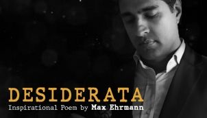 Desiderata - A Life Changing Poem by Max Ehrmann   Recited by Simerjeet Singh   Poetry That Inspires