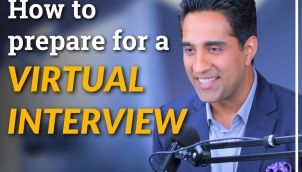 How to prepare for a Virtual Interview?   Best practices for Virtual Interviews by Simerjeet Singh   Virtual Job Interview Tips