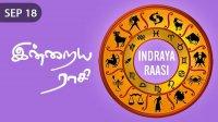 Indraya Raasi - Sep 18